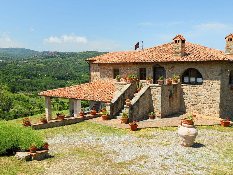 Podere dei Venti, casa vacanza a Montenero d'Orcia