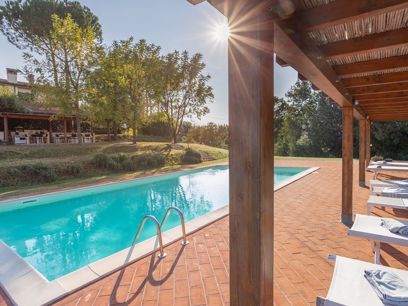 Villa San Gervasio, vacation rental in Capannoli