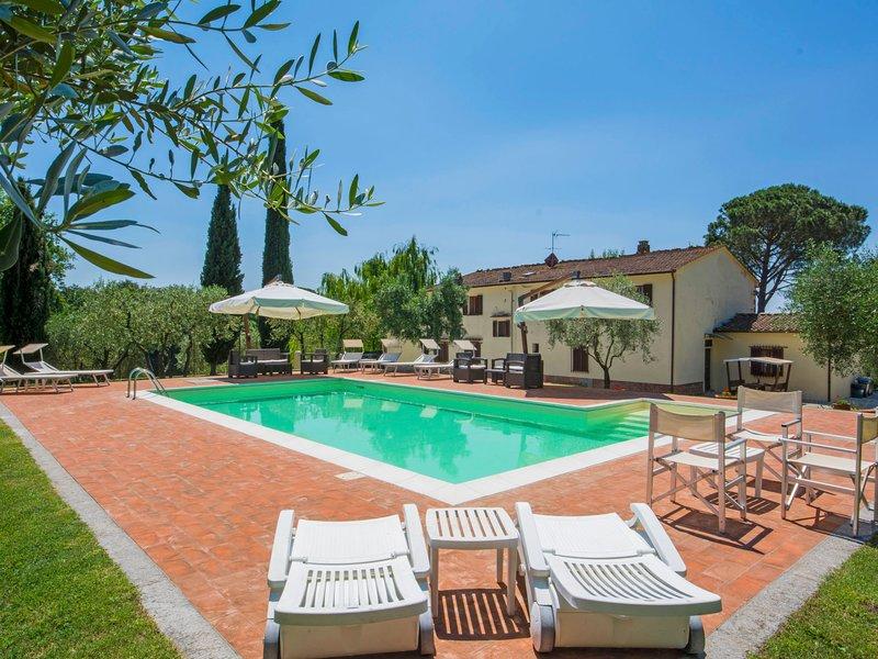 Villa Beboli per 18 pax, Ferienwohnung in Lamporecchio