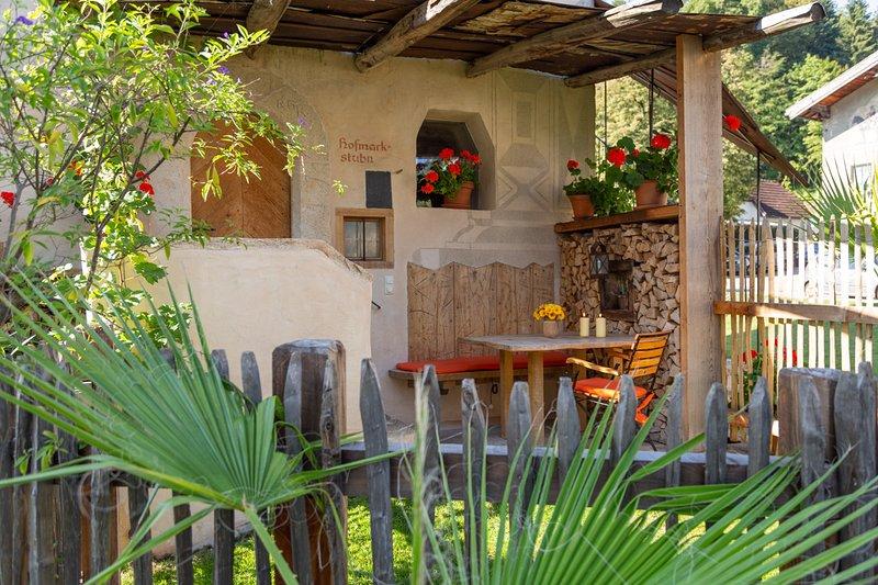 exklusive Ferienwohnungen im Turm zu Schloss Schedling nahe dem Chiemsee, location de vacances à Trostberg an der Alz