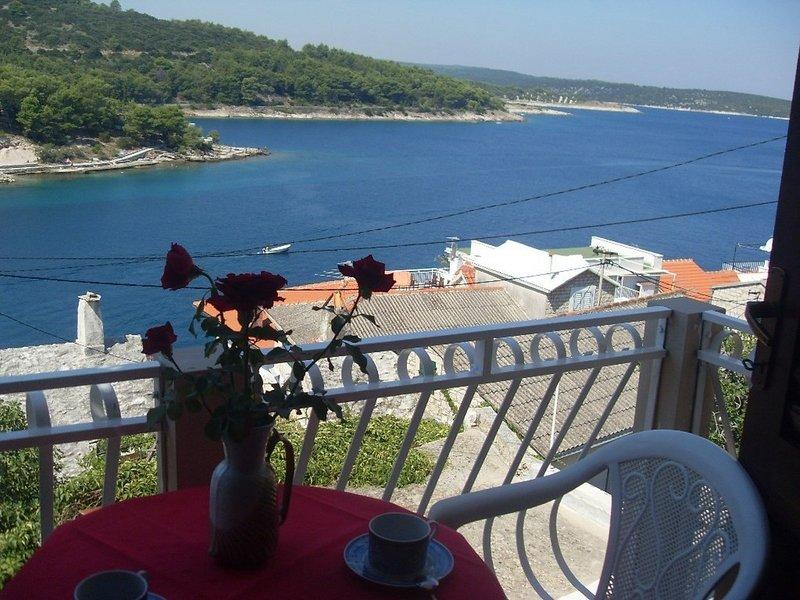 Jure A2(2+1) - Povlja, holiday rental in Selce