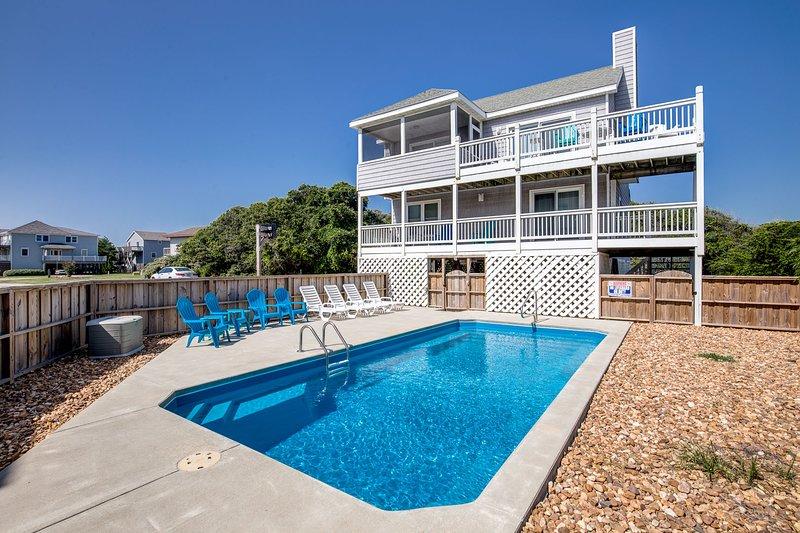 Shark Tales | 495 ft from the beach | Private Pool | Duck, alquiler de vacaciones en Duck