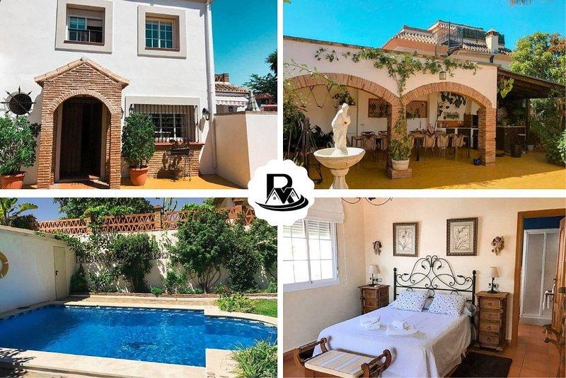 Italian Style Beachside 3 Floor Villa, 300 m San Pedro Beach ✔, vacation rental in Marbella