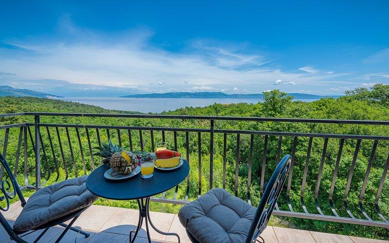 Apt Lara 3 - Pool, Sauna, Hot Tub, Balcony, Sea View, BBQ Grill, holiday rental in Drenje