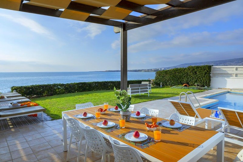 Poseidon Beach Villa, holiday rental in Paphos District
