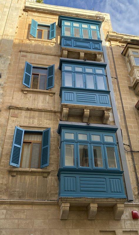 Maltese Balcony of each apartment