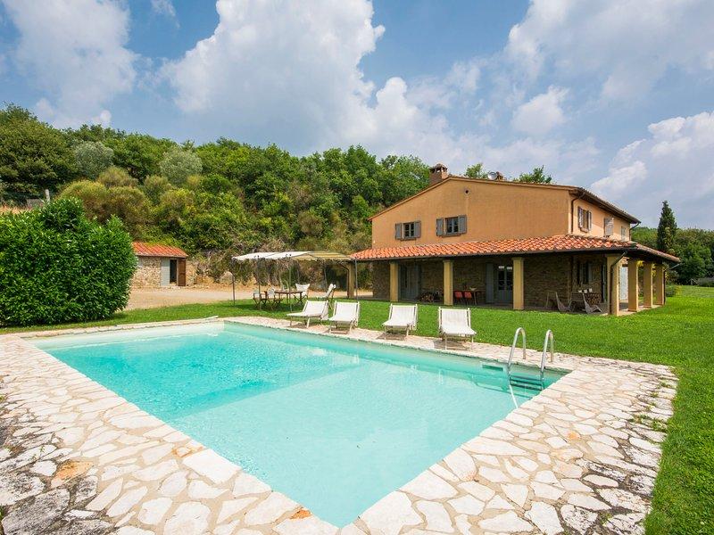 Villa La Piaggia, holiday rental in Civitella in Val di Chiana