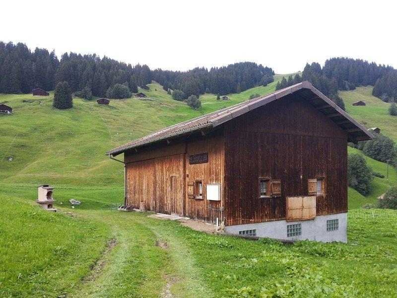 Maiensäss Bostg Cabernard Brigels, casa vacanza a Vals