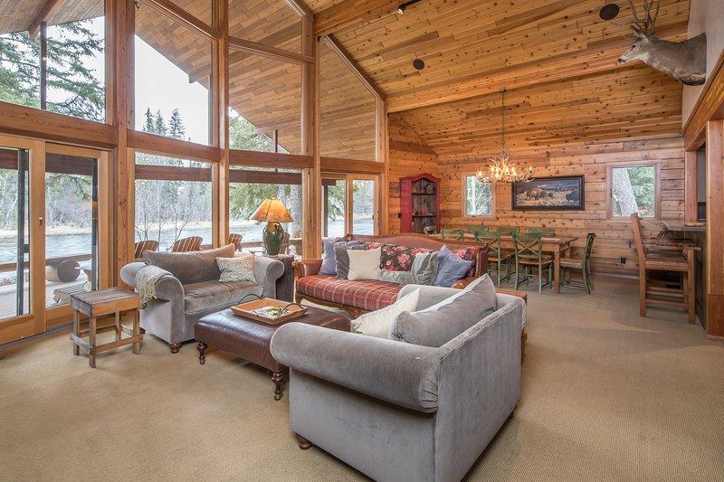 Bigfork - Swan River Retreat, holiday rental in Bigfork