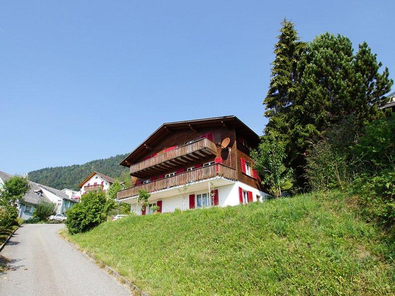 Apartment Sidonie, alquiler vacacional en Reichenburg