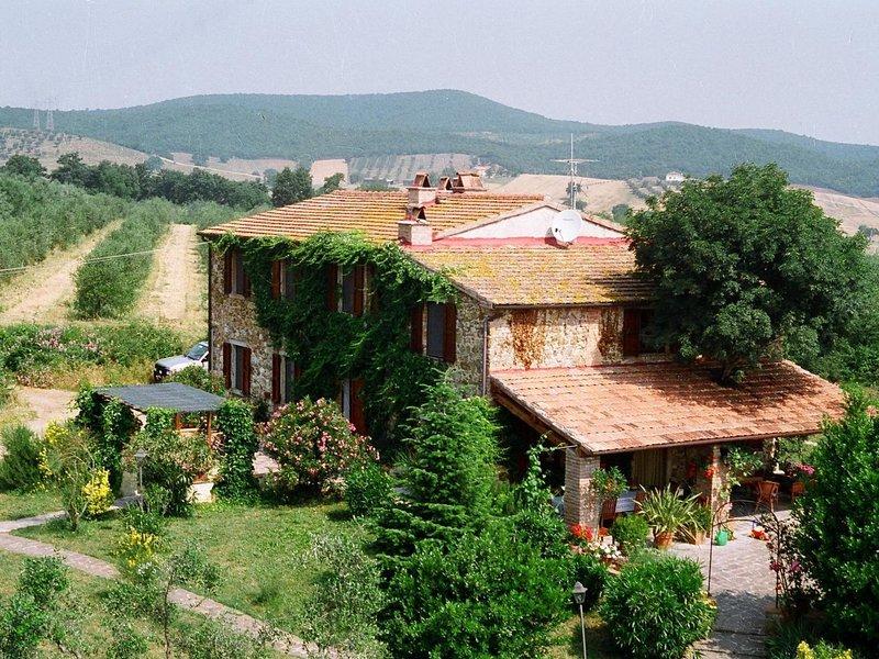 Podere Gli Scopai Wohnung Nr. 2, holiday rental in Giuncarico