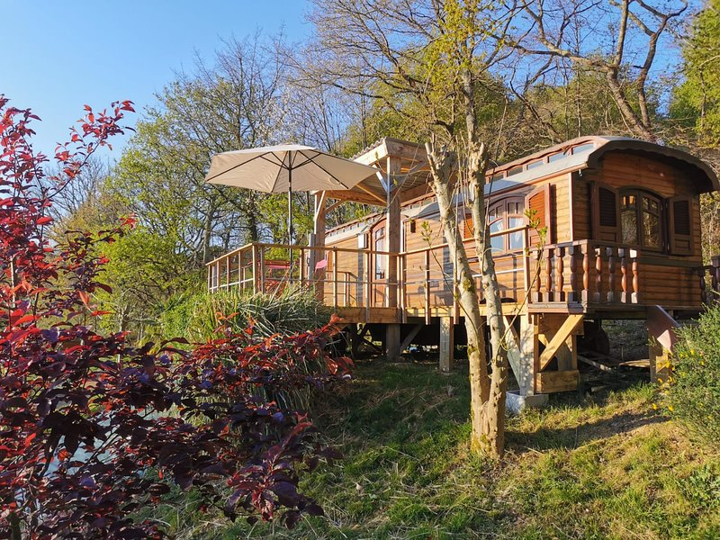 La roulotte Fichous, vacation rental in Poudenx