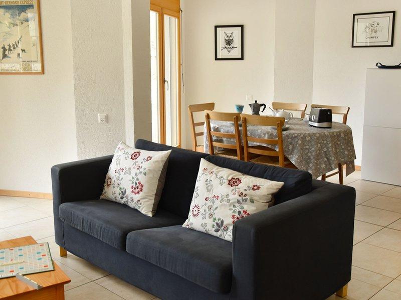 Renaissance 8, holiday rental in Bovernier