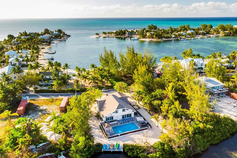 Hidden Cove is located in the exclusive Cayman Kai neighborhood.