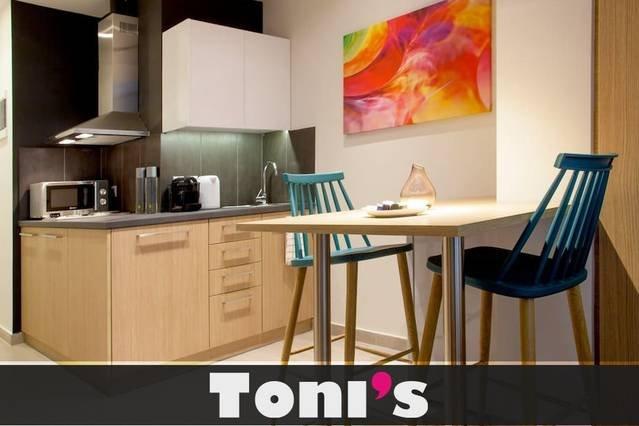 Toni's - Fashionable Studio near Presidential Garden, alquiler vacacional en Kessariani