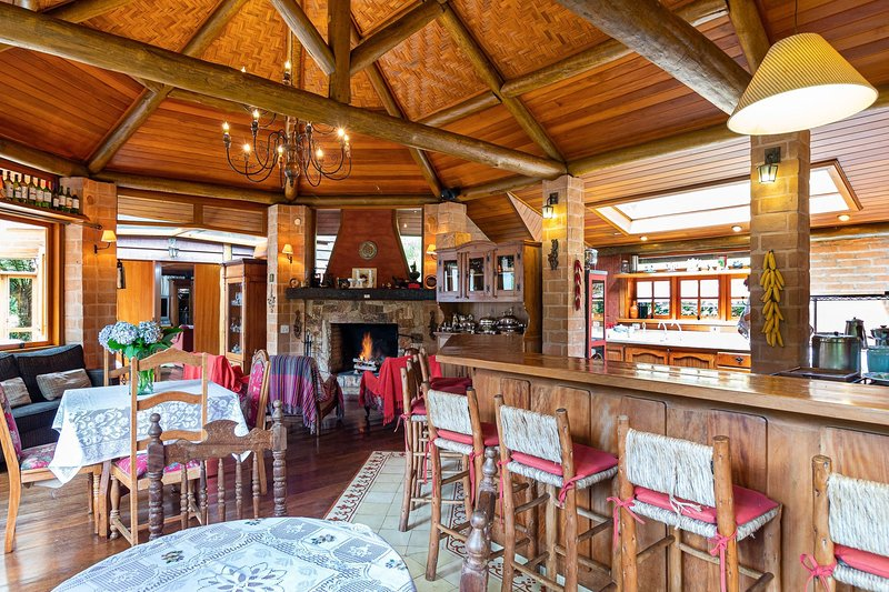Vale do Lajeado – Chalé Gourmet, holiday rental in Campos Do Jordao