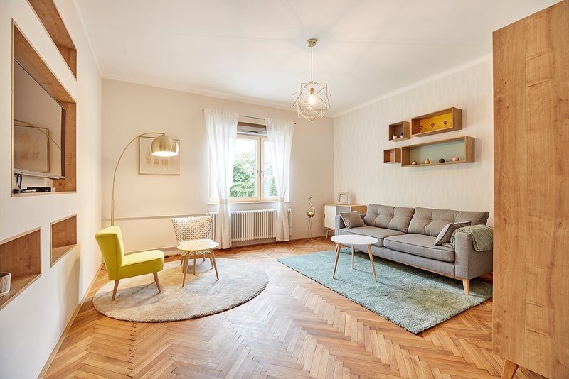 Spa Apartments Breza - Lower Floor Apartment, vacation rental in Medvode