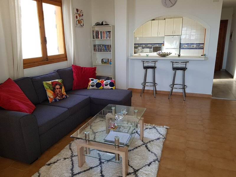Spacious Living room and decor