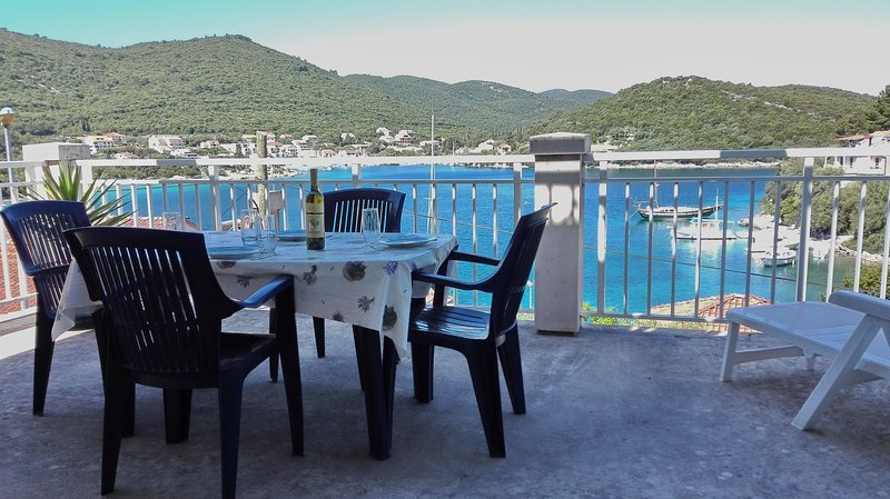 Apartment Classic Korčula - Two Bedroom Apartment with Terrace and Sea View, holiday rental in Medvinjak