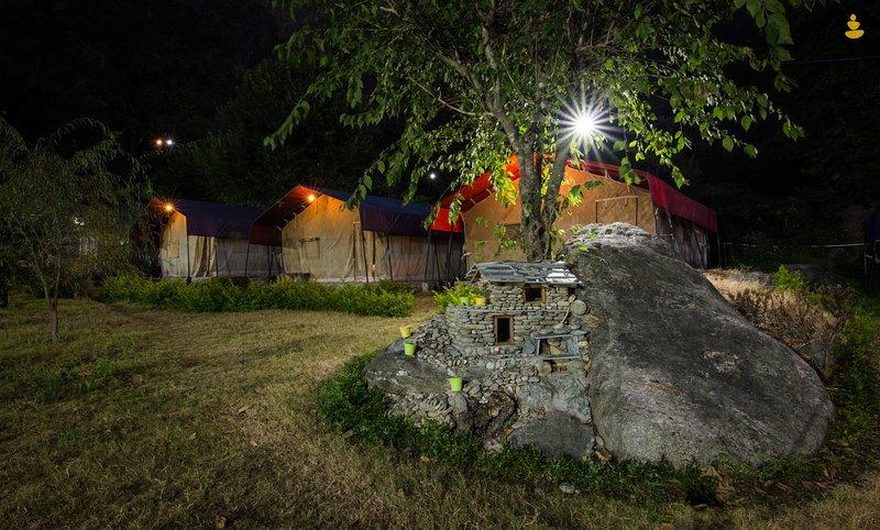 LivingStone Campingsite Uttrakhand, vakantiewoning in Nainital