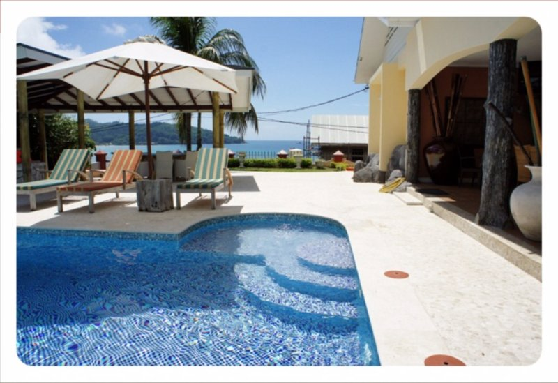 Private Pool Villa, Ferienwohnung in Anse Forbans