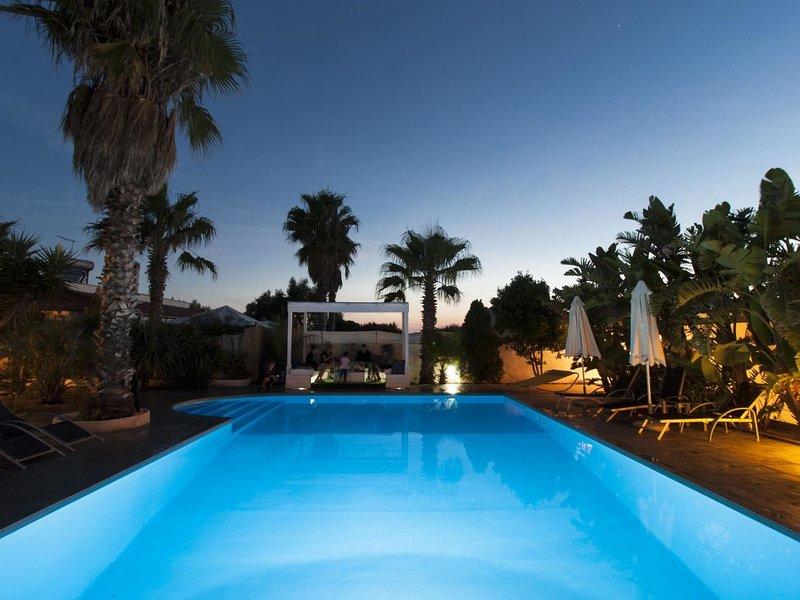 villa cotriero crystal, vacation rental in Marina di Mancaversa