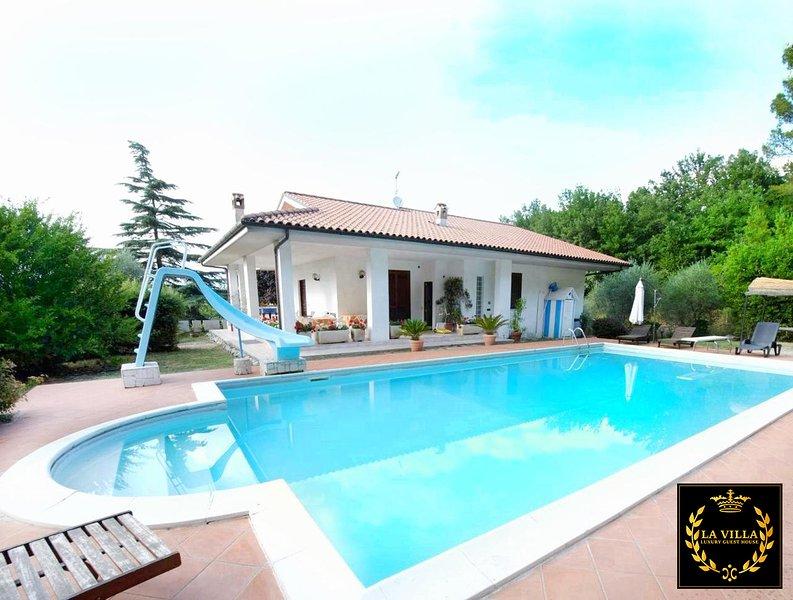 La Villa - Luxury Guest House, holiday rental in Greccio