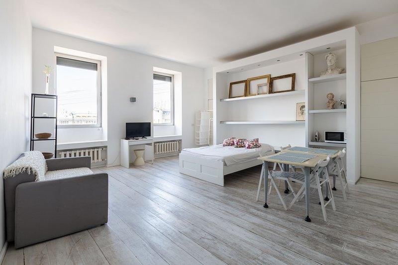 Studio apartment, location de vacances à Krasnogvardeysky District