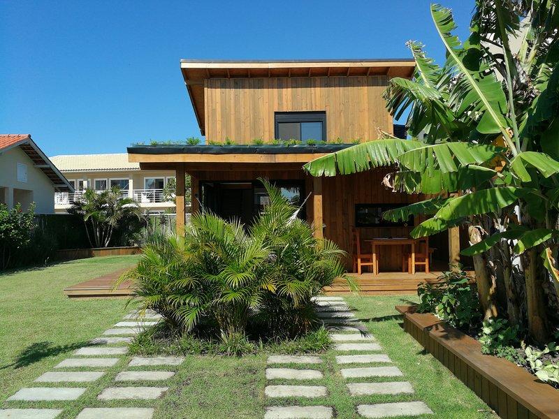 Exclusive EcoHouse! Privacy 100 m Praia Campeche., Ferienwohnung in Campeche