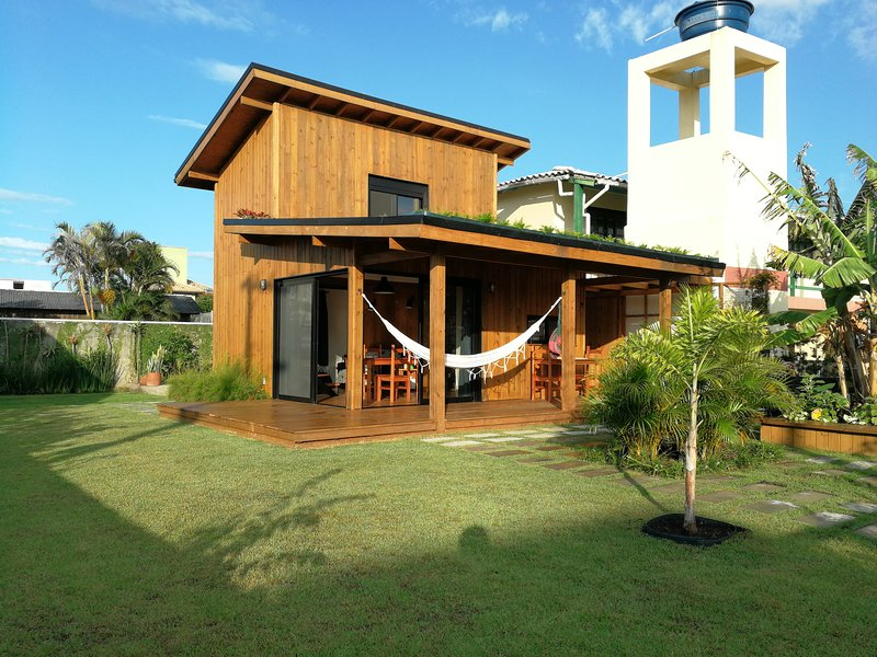Exclusive Cozy EcoHouse 100 m da praia do Campeche, location de vacances à Campeche