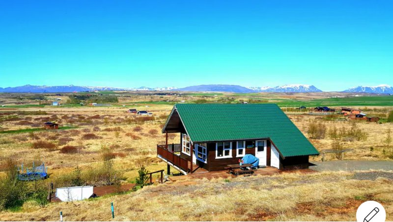 Golden Circle - Beautiful Icelandic house with hot tub, vacation rental in Fludir