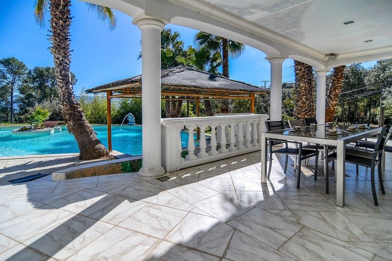 La Palmeraie 4* - Magnifique villa avec piscine entre mer et montagne, location de vacances à Vidauban