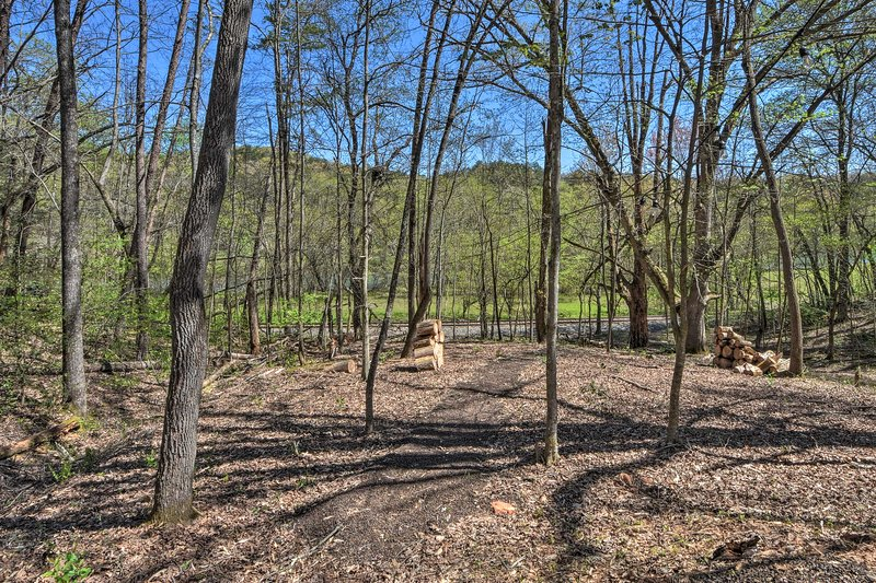 With wooded views like these, you'll never want to leave!