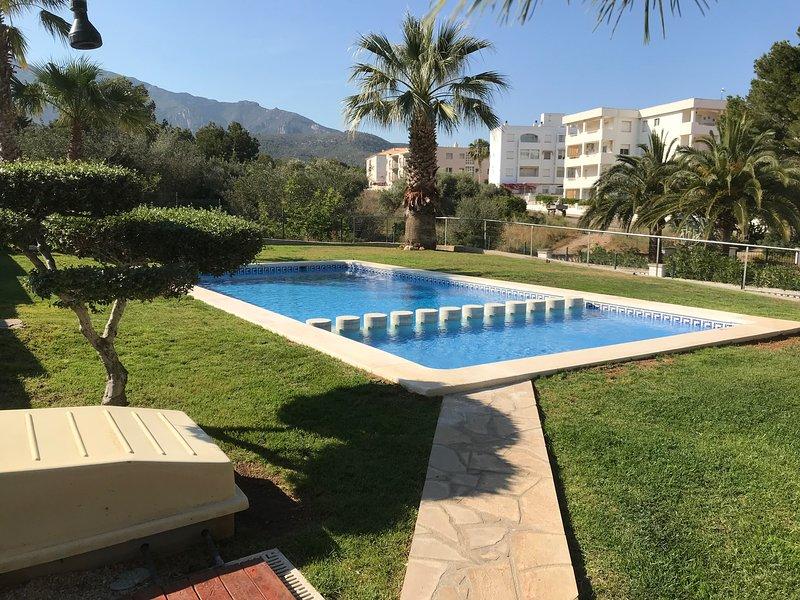 appartement terrasse vue mer, alquiler de vacaciones en Sant Carles de la Ràpita