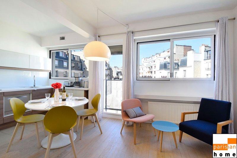 116470 - Beautiful apartment for 4 people near the Trocadéro, aluguéis de temporada em Boulogne-Billancourt