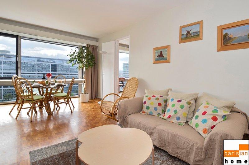 214148 - Vaste et charmant appartement pour 4 personnes, vacation rental in Montrouge