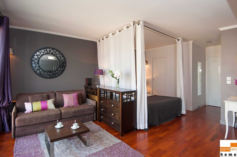 S15132 - Amazing studio for 4, metro Convention, holiday rental in Vanves