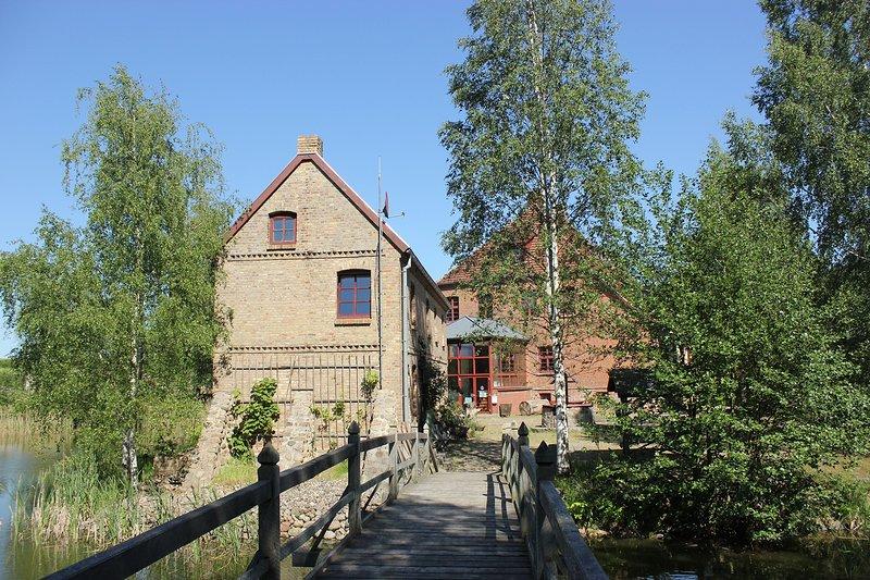 Rosenhaus rechts, vacation rental in Reuterstadt Stavenhagen