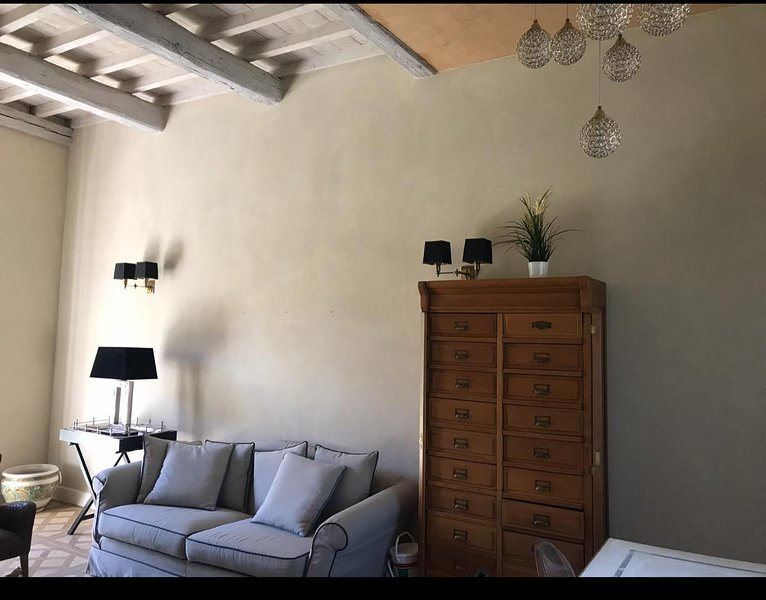 Magnolia Apt:3 doppie, 2 bagni, cucina&living, giardino e parcheggio pvt,piscina, alquiler vacacional en Fiesole
