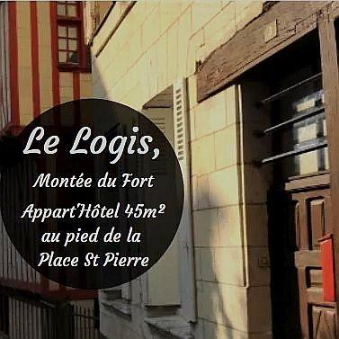 Le Logis, au cœur du centre ville, à la montée du château !, holiday rental in Allonnes