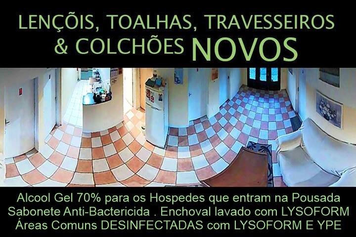 Morada BemTeVi - GUEST HOUSE / QUARTOS Jardim Topazio, lugar Tranquilo e Seguro, vacation rental in Sao Jose Dos Campos