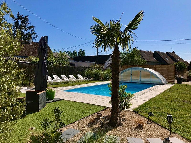 GITE ' LA BELLE AVENTURE ' PROCHE D'AMBOISE ET DU  LOIR ET CHER, location de vacances à Indre-et-Loire