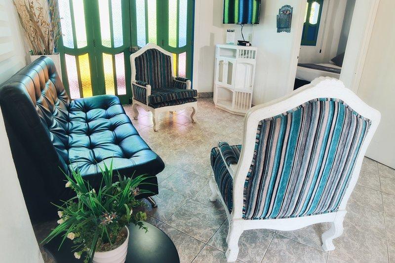 La Martinera Parque Central 202: Vista a la plaza, excelente ubicación, aluguéis de temporada em Guatape