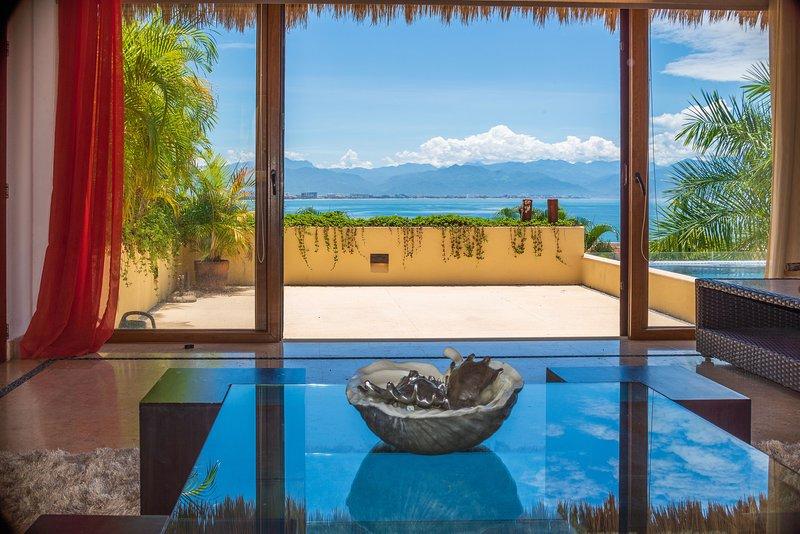 Punta Esmeralda Villa Mango, holiday rental in La Cruz de Huanacaxtle