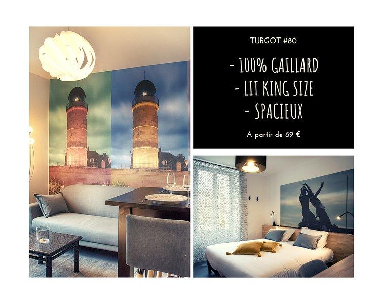 TURGOT #80 - L'Appart. 100% Gaillard - 2 chambres, location de vacances à Allassac