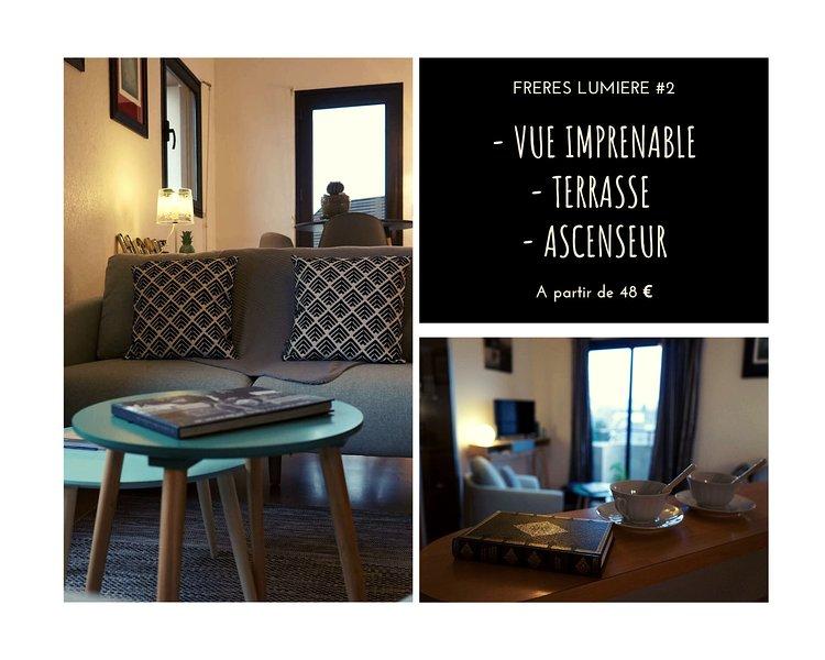 FRERES LUMIERES #2 - Studio Cocooning - 1 Chambre, location de vacances à Allassac