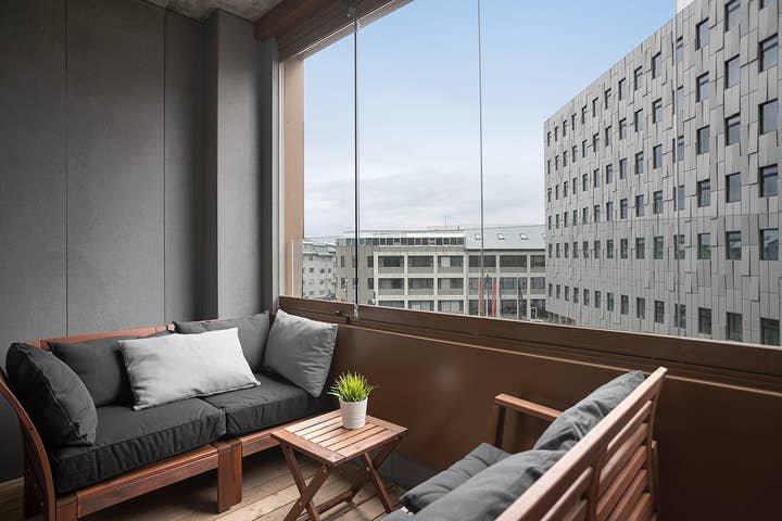 SIF 2BR 305 with balcony 2 bathrooms, location de vacances à Reykjavik