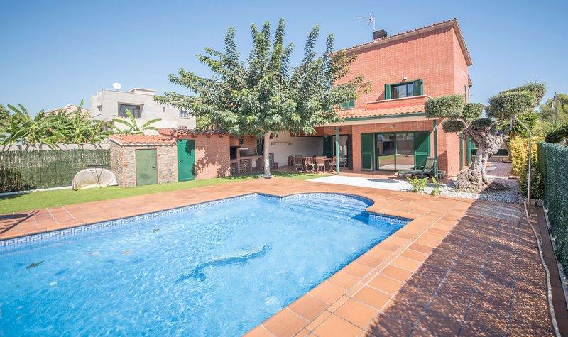 R77 Moderna casa para las vacaciones 1.4km de la playa Roda de Bara, casa vacanza a Bonastre