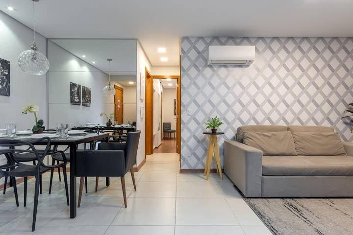 Apto de 2 quartos, acomoda 6 pessoas, aluguéis de temporada em Nova Petrópolis