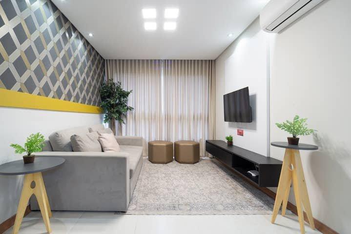 Apto de 2 quartos na melhor localização de Gramado, vacation rental in Nova Petropolis